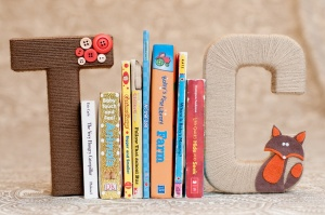 Bookends for my bff's little boy.