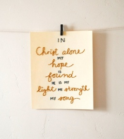 In Christ Alone pic