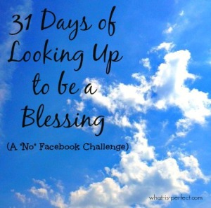 31 Day Blogging Pic