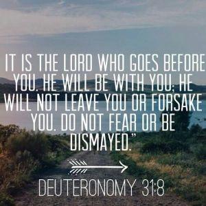 Deut. 31-8